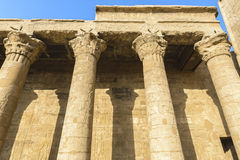 The Temple of Edfu, Egypt Royalty Free Stock Image