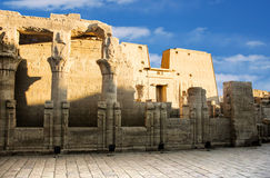 Temple of Edfu Stock Photo