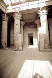 Temple in Egypt Stock Image