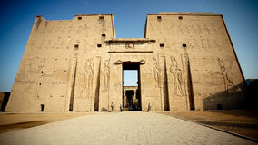 Temple in Egypt Royalty Free Stock Photography