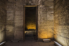 Temple in Egypt. Africa. Nice walls Stock Photo
