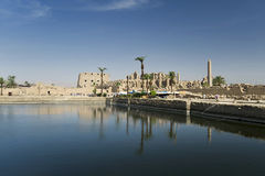 Temple in Egypt, Karnak Stock Photography