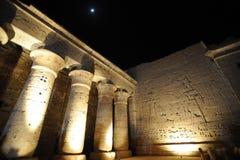 Temple Egypte de Medinet Habu photos libres de droits