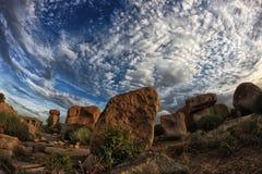Hampi Landscape Royalty Free Stock Photography