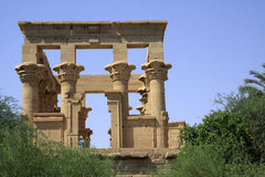 Temple on Elephantine Island Stock Photography