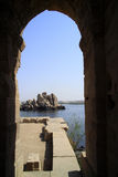 Temple on Elephantine Island Stock Photo