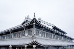 The temple of emei mountain Stock Image