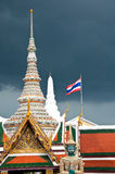 Temple of the Emerald Buddha. In Bangkok, Thailand Stock Images