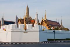 The Temple of the Emerald Buddha Royalty Free Stock Image