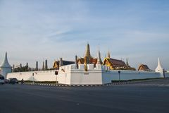 The Temple of the Emerald Buddha Stock Photography