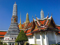 Temple of the Emerald Buddha Stock Photography