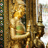 Temple of the Emerald Buddha in Bangkok stock image