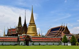 Temple of the Emerald Buddha Royalty Free Stock Photography