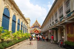 Temple of the Emerald Buddha Royalty Free Stock Images