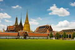 Temple of the Emerald Buddha in Bangkok Stock Image