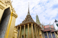 Temple of the Emerald Buddha in Bangkok, Thailand Stock Images