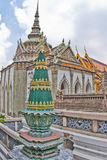 Temple of the Emerald Buddha, bangkok Stock Image