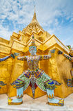 Temple of the Emerald Buddha. Details of Wat Phra Kaew, Temple of the Emerald Buddha, Bangkok, Thailand Royalty Free Stock Photos
