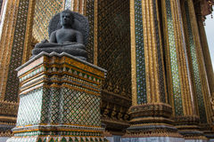 Temple of the Emerald Buddha; full official name Wat Phra Si Rat Royalty Free Stock Photo