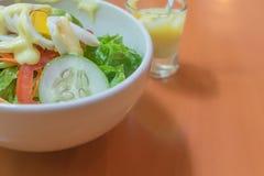 Boiled egg salad. Stock Photo