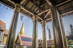 Temple of the Emerald Buddha. At Grand Royal Palace in Bangkok, Thailand Royalty Free Stock Photos