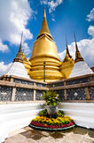 Temple of the Emerald Buddha in Bangkok Stock Photos
