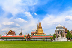 Temple of the Emerald Buddha, Thailand. Temple of the Emerald Buddha Or commonly known as Wat Phra Kaew, the Temple of King Rama the Great skyline Majesties stock photography