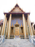 Temple of the Emerald Buddha (Wat Phra Kaew). Bangkok thailand royalty free stock images