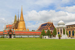 Temple Of The Emerald Buddha Or Wat Phra Kaew In Bangkok Royalty Free Stock Images