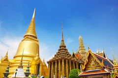 Temple of the Emerald Buddha Stock Image