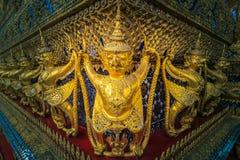 Temple of The Emerald Buddha or Wat Phra Kaew, Grand Palace, Bangkok, Thailand stock photography