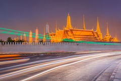 Temple of the Emerald Buddha. Royalty Free Stock Image