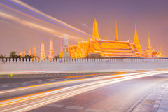 Temple of the Emerald Buddha. Royalty Free Stock Images