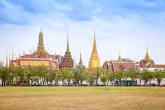Temple  of the Emerald Buddha (Wat Phra Kaew). - The historic cen Stock Photography