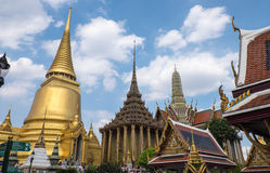 Temple of the Emerald Buddha (The Wat Phra Kaew), Thailand Stock Images