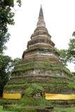 Temple en Chiang Saen, Thaïlande du nord Photographie stock libre de droits