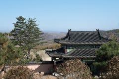 Temple en Chine Photo libre de droits