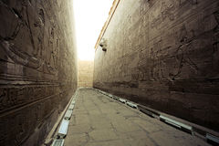 Temple en Egypte Photo libre de droits
