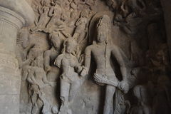Temple en Inde image libre de droits