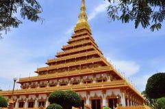 Temple en Khon-ken Photos stock