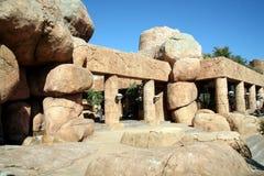 Temple en pierre Images stock