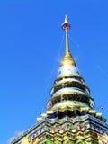 Temple en soleil Image libre de droits