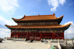 Temple en TA de wutai Photo libre de droits