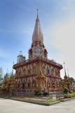 Temple en Thaïlande Images libres de droits