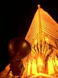 Temple en Thaïlande Photos libres de droits