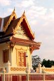 Temple en Thaïlande Beau temple thaï Images libres de droits