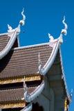 Temple en Thaïlande, temple dans la province de chiangmai Photographie stock