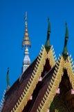 Temple en Thaïlande, temple dans la province de chiangmai Photos stock