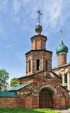 Temple ensemble in Korovniki, Yaroslavl Stock Image
