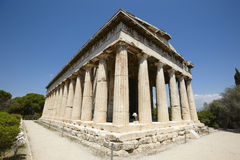 Temple of Ephesto in Athens. Greece Royalty Free Stock Photo